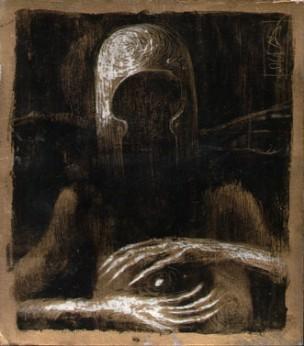 Seed of Evil | 12 cm x 12 cm | 2004
